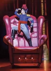 BARNUM - Mikey Jay-Heath as 'Tom Thumb'.  Photo by Johan Persson