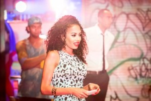 Jade Ewen as Vanessa in In The Heights. Photo Credit Johan Persson