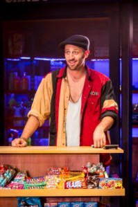Sam Mackay as Usnavi in In The Heights. Photo Credit Johan Persson